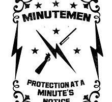 Fallout - Minutemen (BLK) by BRPlatinum