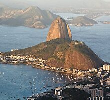 Sugarloaf from Above by George Oze