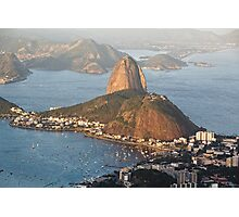 Sugarloaf from Above Photographic Print