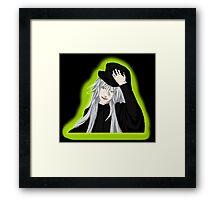 Undertaker - Black Butler - Fan Art Framed Print
