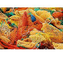 Fishing Float Nets Photographic Print