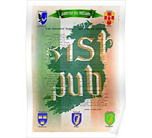 IRISH SOLDIER SONG, AMHRAN NA BHFIANN IRISH AND ENGLISH  Poster