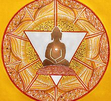 Buddha : Solar Plexus Chakra  by danita clark
