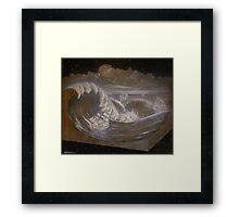 """Rogue Waves"" Framed Print"