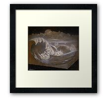"""Rogue Waves"" Framed Print"