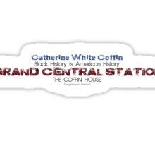Black History Month: Catherine White Coffin Sticker
