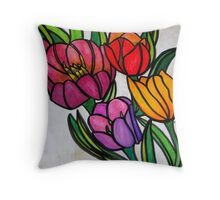Color Me Any Color Throw Pillow