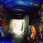 Graffiti Tunnel by KnightsOfShame