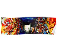 Graffiti Tunnel Poster