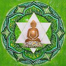 Buddha : Heart Chakra  by danita clark
