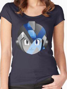 X-Megamen Women's Fitted Scoop T-Shirt