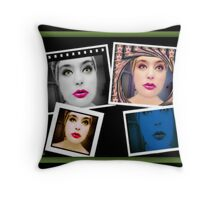 இڿڰۣ-ڰۣ—PHOTO EFFECTS AND COLLAGE இڿڰۣ-ڰۣ— Throw Pillow