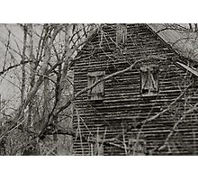 West Point on the Eno river mill, Durham, NC Photographic Print