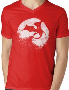 Midnight Desolation Mens V-Neck T-Shirt