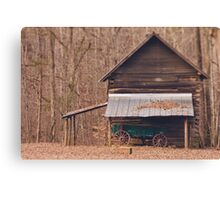West Point on the Eno Park, Durham, NC Canvas Print