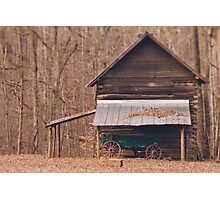 West Point on the Eno Park, Durham, NC Photographic Print