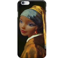 Barbie with a Plastic Earring iPhone Case/Skin