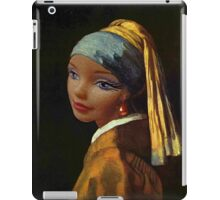 Barbie with a Plastic Earring iPad Case/Skin
