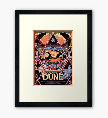 Jodorowsky's Dune Framed Print