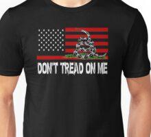 American Patriot Don't Tread On Me 2nd Amendment Unisex T-Shirt