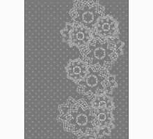 Polka Dot and Flowers Decoration T-Shirt