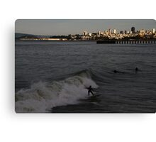 Surf City San Francisco Canvas Print