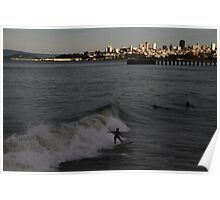 Surf City San Francisco Poster