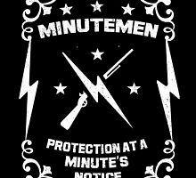 Fallout - Minutemen (WHT) by BRPlatinum