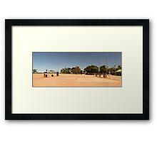 Curtin Springs Petrol Stop, NT Framed Print