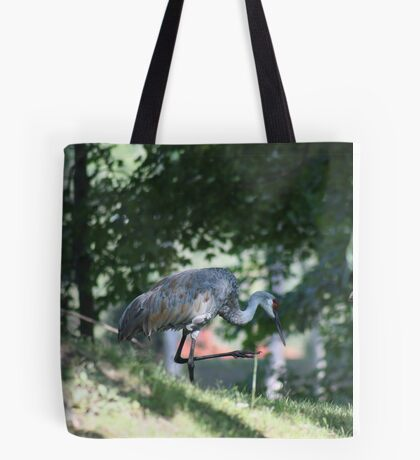 Sandhill Crane photographed in Oconomowoc Tote Bag