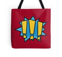 COMIC BOOK: !!! Tote Bag