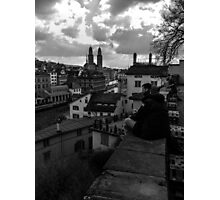 View Over Old Zurich Town Photographic Print