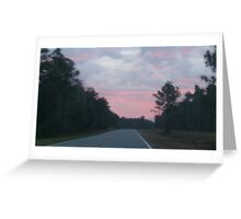 Sunset Highway Photograph Greeting Card