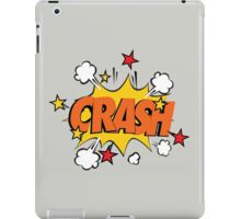 COMIC BOOK: CRASH! iPad Case/Skin