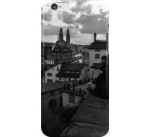View Over Old Zurich Town iPhone Case/Skin