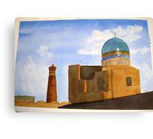 Bukhara skyline Canvas Print