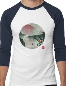 Two Of Seven Men's Baseball ¾ T-Shirt