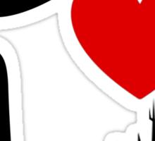 I Heart Space Mountain Sticker