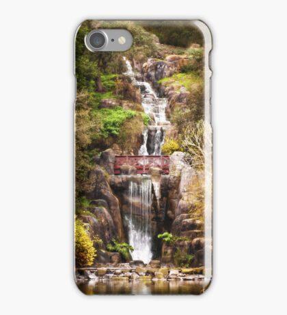 Golden Gate Park Waterfall iPhone Case/Skin