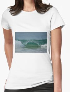 The Horizon. Womens Fitted T-Shirt