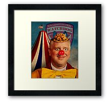 Glenn Beck: A patRIOT Framed Print