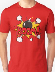 COMIC BOOK: BOOM BOMB! T-Shirt