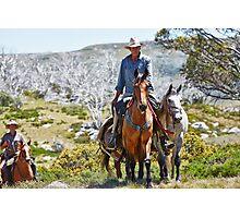 A Snowys' Horseman Photographic Print