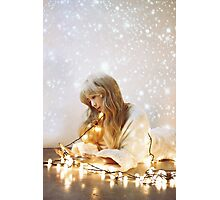 Taeyeon - dear santa Photographic Print