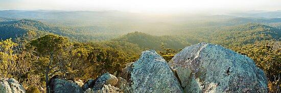 Genoa Peak, Croajingolong National Park, Victoria, Australia by Michael Boniwell