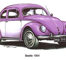 1965 Volkswagon Beetle by mrclassic
