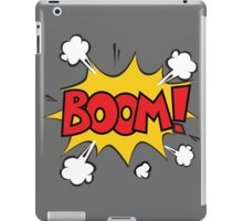 COMIC BOOK: BOOM! iPad Case/Skin