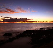 Sunrise Boulder Beach Ballina NSW by OzNatureshots