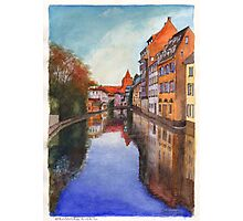 River Ill - Strasbourg, France Photographic Print