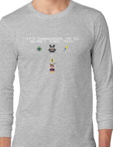 It's Dangerous in Kingdom Hearts Long Sleeve T-Shirt